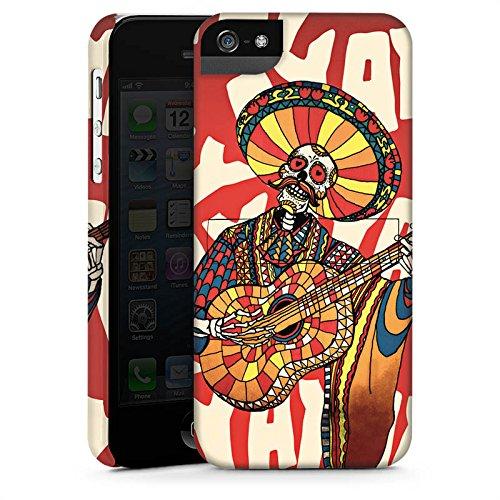Apple iPhone X Silikon Hülle Case Schutzhülle Mariachi Totenkopf Gitarre Premium Case StandUp