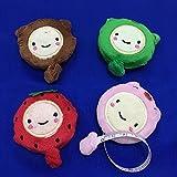 yeqin (TM) nouveauté Nice Funny Cute Cartoon règle en peluche 152,4cm rétractable Ruban de mesure 150cm couture outil