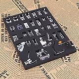 32pcs Pieds-de-biche multifonctionnel pour Machine à coudre domistique