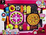 #7: Colorful Tableware Yummy Pizza Role Play Toy set