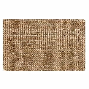 URBANARA Daya doormat - 100% jute - natural brown - 50 x 80 cm