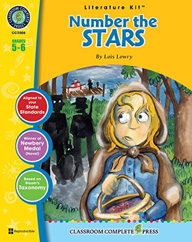 A Literature Kit for Number the Stars, Grades 5-6 [With 3 Overhead Transparencies]