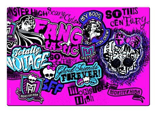 Monster High–Mon0458–Einrichtung und Dekoration–Schreibunterlage Scary Cute