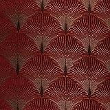 Art Déco Plüsch 20er Samt-effekt New York Vorhang Polster