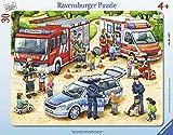 Ravensburger Rahmenpuzzle 06144 Spannende Berufe