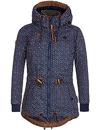NAKETANO Schniedelschmutz Jacke für Damen Schwarz