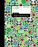 [Primary Composition Book: Kids School Exercise Book with Pandas, Butterflies & Owls [ Times Tables * Wide Ruled * Large Notebook * Color * Perfect Bound ]] [By: smART bookx] [February, 2015]