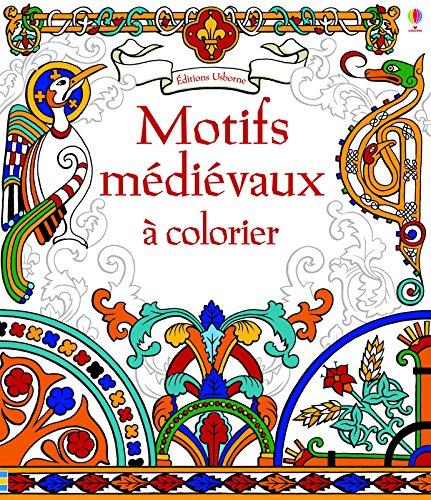 Motifs médiévaux à colorier par Struan Reid
