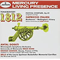 Tchaikovsky: 1812 Festival Overture, Capriccio Italien / Beethoven: Wellington's Victory (1995-11-14)