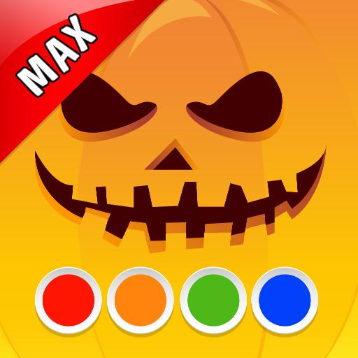 Malbuch - Halloween MAX (Halloween Beängstigend Jungen Kostüme)