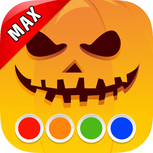 Malbuch - Halloween MAX (Polnische Jungen Kostüm)