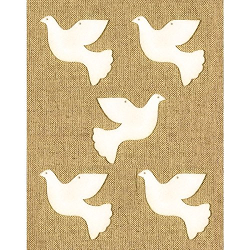 Bastelfilz Figuren Set – Taube – Filz, Textilfilz, Streudeko