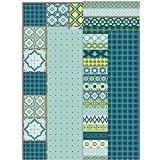 Creativ Decoupage Papier Tabelle blau, Harmony, braun, 17g, 25x 35cm