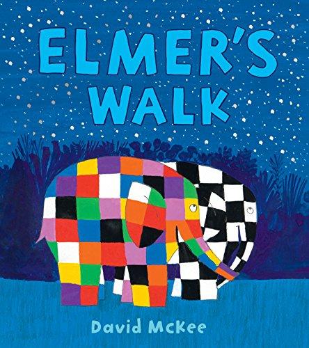 Elmer's Walk (Elmer Picture Books) por David McKee