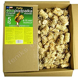 Feniks Firelighters 500pcs. in the box, For Fireplace, Stoves, Barbecues and Campfires