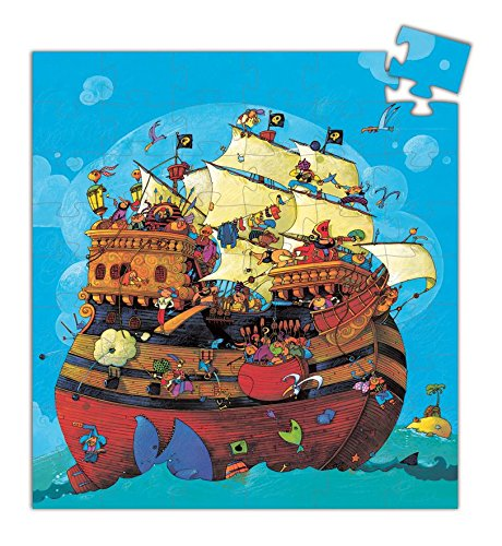 Djeco Puzzle Barbarossas Boot (ab 4 Jahre)