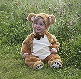 Baby - Disfraz de oso para bebé niño, talla 0-18 meses (Z12D)