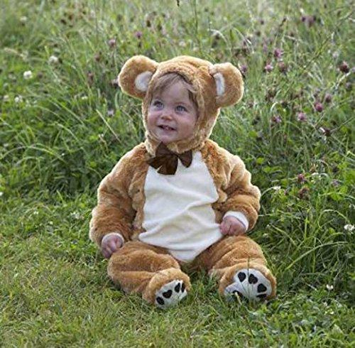 Girl 3 Kostüme Monate Baby (Baby-Teddybär fancy dress up BNWT 3-18 Monate, Jungen, Mädchen Kleinkind deluxe Kostüm (6-12)