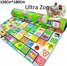 Ultra Zon Waterproof Double Side Baby Play Crawl Mat