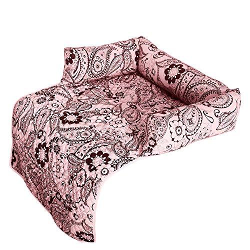 ZuckerTi Mehrfunktional Kissen Matt Bett Hundekissen Hundesofa Hundekorb Katzenbett Tierbett Hundebett Hundesofa für Pet Hund Katze Haustier Welpe Oben Drauf Stuhl Betten in 3 Farbe wählbar - Bett-matt