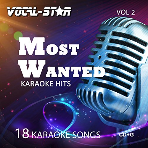 Price comparison product image Vocal-Star Most Wanted Vol 2 Karaoke CDG CD+G Disc Set - 18 Songs Including Adele Abba Coldplay Ed Sheeran Katy Perry Little Mix Madonna Bon Jovi