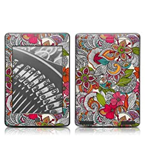 """DecalGirl Kindle Touch-Skin """"Doodle Color"""""""