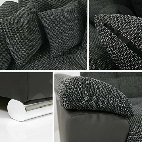 eckcouch ecksofa niko bis design sofa couch mit. Black Bedroom Furniture Sets. Home Design Ideas