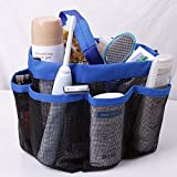 "The Virgo Hanging Toiletry and Bath Bag with Durable Handles for College Dorm,Gym, Camping and Travel(size-8.5""wx9.5""d x 8.5""t)"