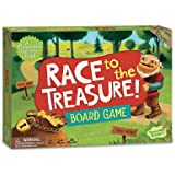 Peaceable Kingdom Race To The Treasure Board Game Age 5 +