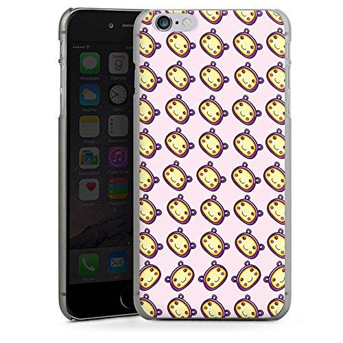 Apple iPhone X Silikon Hülle Case Schutzhülle Muster Kawaii Manga Hard Case anthrazit-klar