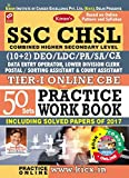 Kiran's SSC CHSL (10+2) Tier - I Online CBE Practice Work Book with CD - 1961