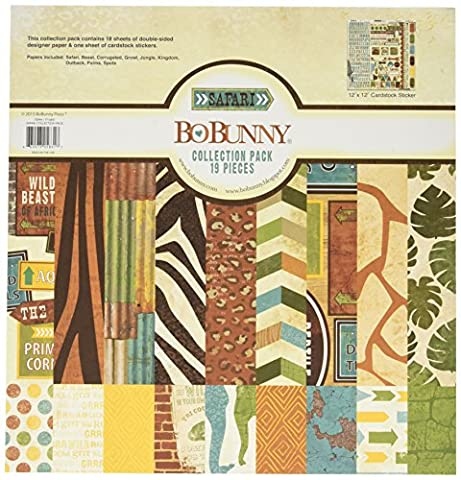 Bo Bunny Paper Bo-Bunny Collection Pack 12-inch x 12-inch,