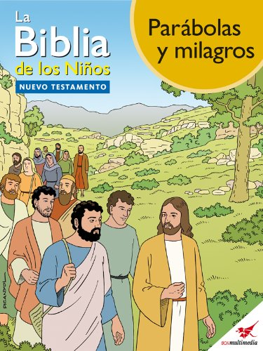 La Biblia de los Niños - Cómic Parábolas y milagros por Toni Matas