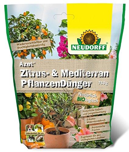 Azet Mediterran Pflanzen Dünger Neudorff 750 g