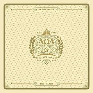 AOA - Angel's Knock (Vol.1) [A ver.] Photobook+Photocard+Folded Poster