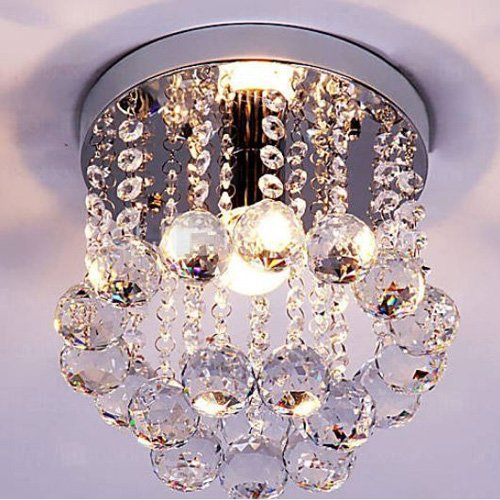 mini-style-1-light-flush-mount-crystal-chandelier