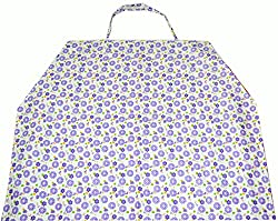 Ireeyas Nursing Cover (Purple Flowery Garden) + shipping free(ncppf1511)