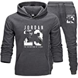 Heren 23 # Jordan Wintersport Trainingspak 2 Stks Gym Basketbal Sportkleding Jas Casual Sport Trui Broek