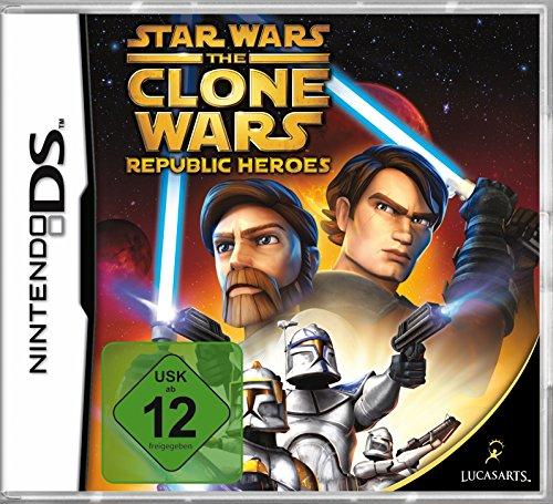 Star Wars - The Clone Wars: Republic Heroes [Software Pyramide] (Ds Star Wars Spiel)