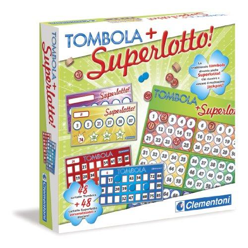 Clementoni - 16554 Tombola con Superlotto, 48 Cartelle