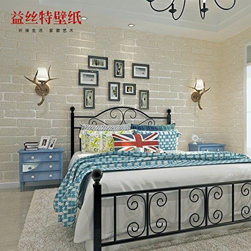 fyzs-mediterranean-brick-flocado-no-tejidos-perla-fondos-de-pantalla-sala-de-estar-dormitorio-de-la-