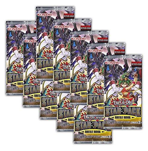 Yu-Gi-Oh! Star Pack Battle Royal 10 Booster Packungen - 1. Auflage deutsche Ausgabe