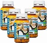 Alcalinizzante Magnesio Calcio dieta alcalina   Energia Vitalità Balance PH Integratore   5 Box da 100 compresse   Preparato alcalino per la regolazione degli acidi nel corpo     metabolismo   ossa