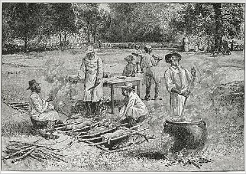 fine-art-print-of-a-southern-barbecue-illustration-from-harper-s-weekly-1887