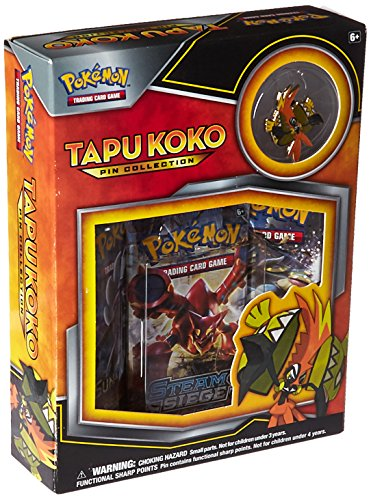 Pokémon 290-80276 Tapu Koko Pin Collection - Englisch