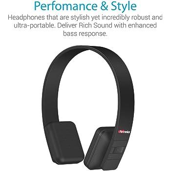 Portronics Muffs XT Wireless Bluetooth Headphone ( Black)