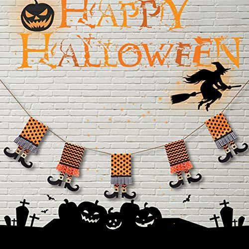 e und lustige Fischer-Preise, Halloween-Stiefel, Wimpelkette, Banner, Party, Bar, Restaurant, Heimdekoration, Requisite Multi ()