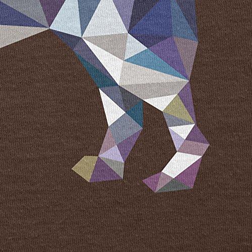 TEXLAB–Poly Dog–Sacchetto regalo in tessuto Marrone