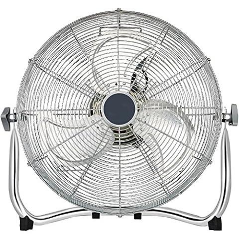 High Velocity Cool Air Circulator Floor Fan, 3 Settings, black ( Size : 38*18.5*32.5cm )