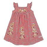 BONDI Trachtenkleid, karo rot/weiss 86 Tracht Baby Mädchen Artikel-Nr.85809